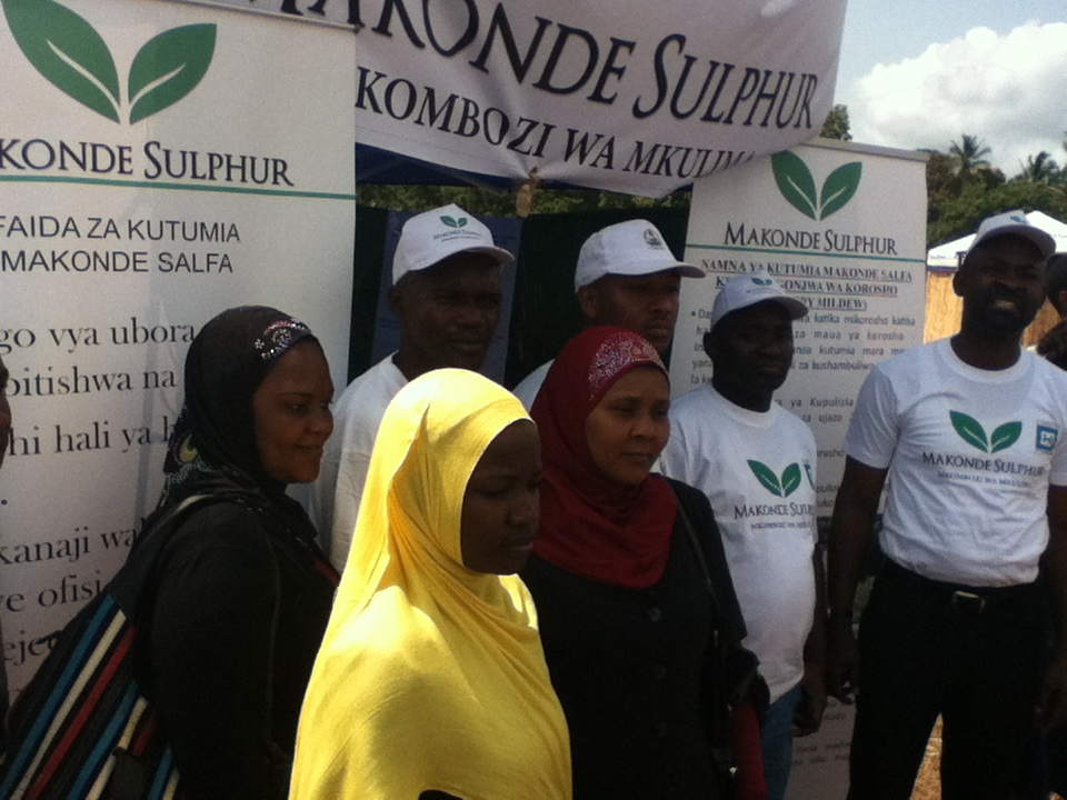 Participants during Farmers Mobile Education program conducted by Prosperity Agro